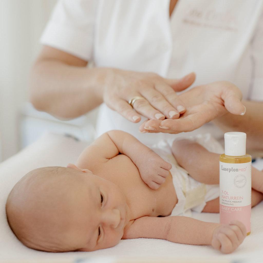 Babymassage – Welches Öl soll ich verwenden?